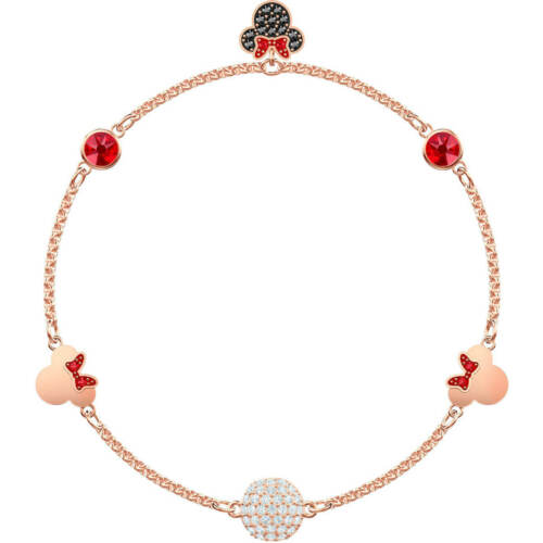 Authentic Swarovski Remix Collection Strand Bracelet with Minnie Mouse