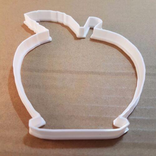 Apple Fruit Shape Cookie Cutter Biscuit Pastry Fondant Sharp Food Plant FD01