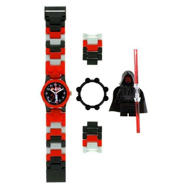 Watch Lego Star Wars Darth Maul 8020332 Children Watch With Pouch Ule8020332 For Sale Online Ebay