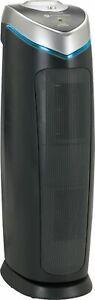 GermGuardian - 167 Sq Ft 4-in-1 True HEPA Air Purifier - Black/Silver