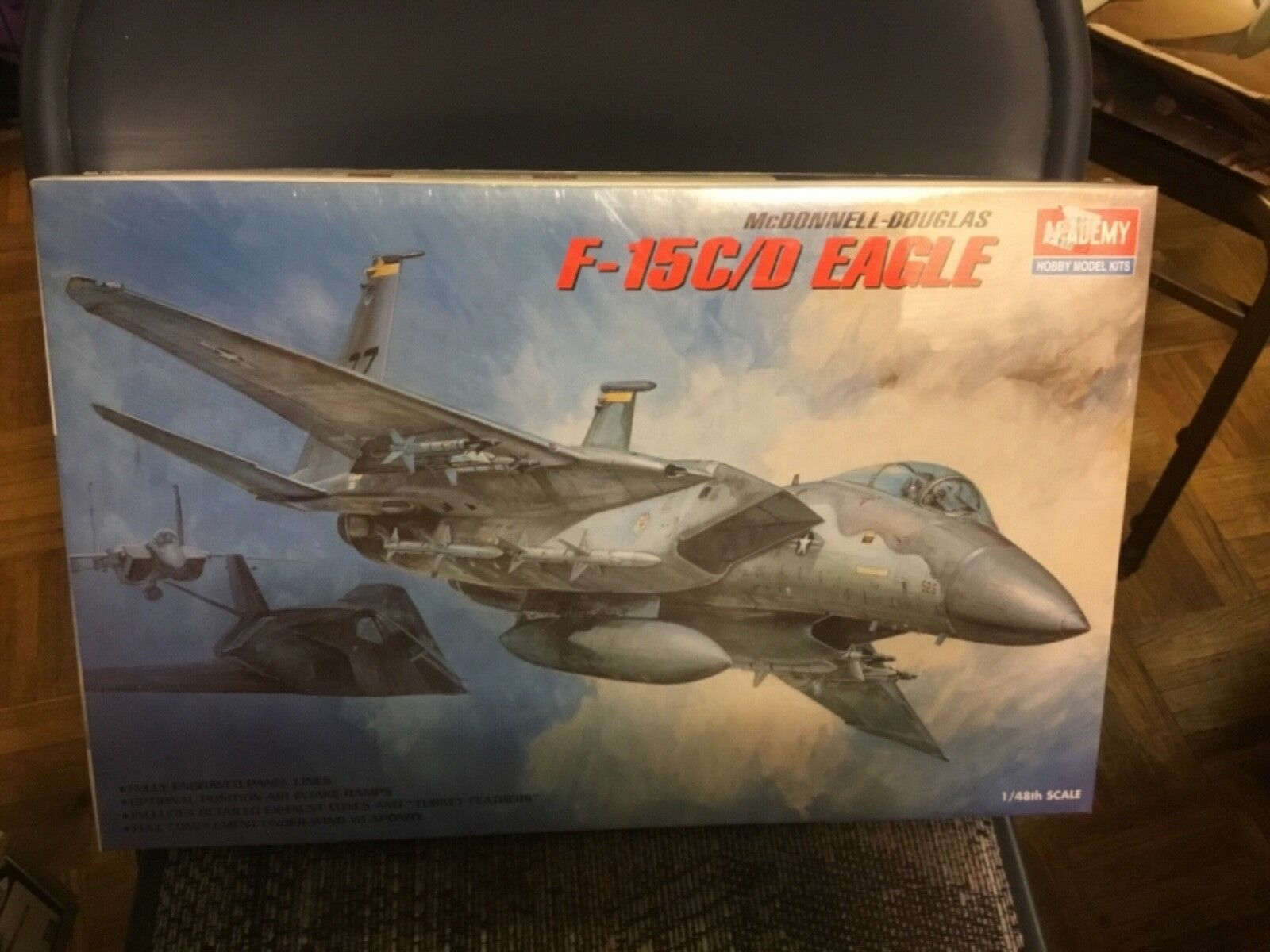 Academy F-15C D Eagle 1 48 Scale