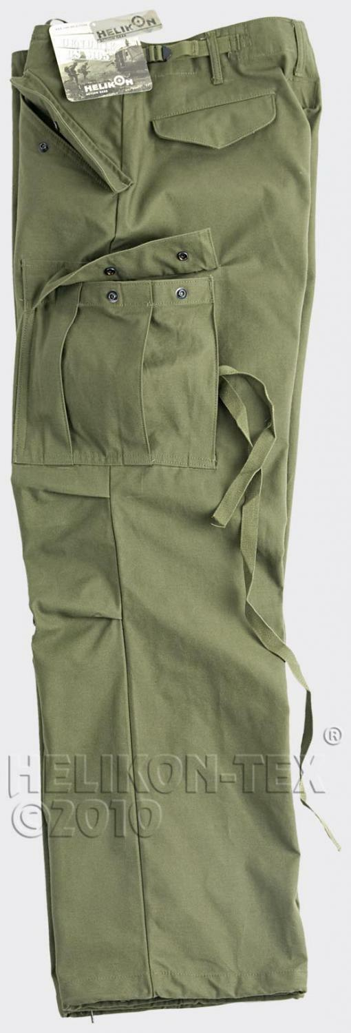 Helikon Tex US M65 Hose Army Feldhose Reforger Field Field Reforger pants OD Grün Small Long 62c289
