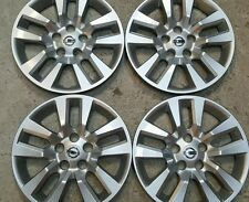 "Set Of 4 53088 NEW 16"" Hubcaps Wheel Covers 07 08 09 10 11 13 2015 Nissan Altima"