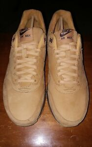 uk availability b6fe0 0ac6b Image is loading BRAND-NEW-NIKE-AIR-MAX-1-FLAX-BAROQUE-