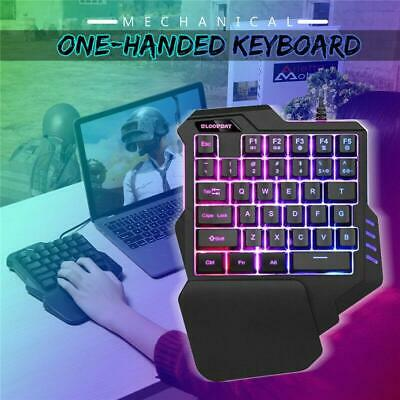 Gaming Mechanical one-handed keyboard hand game artifact left hand game keypad h