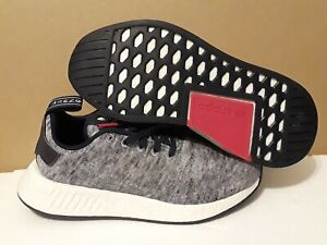 timeless design eec78 17ccf Details about ADIDAS MEN'S NMD R2 UAS UNITED ARROW & SONS HEATHER/MATTE/WHT  DA8834 SIZE: 5