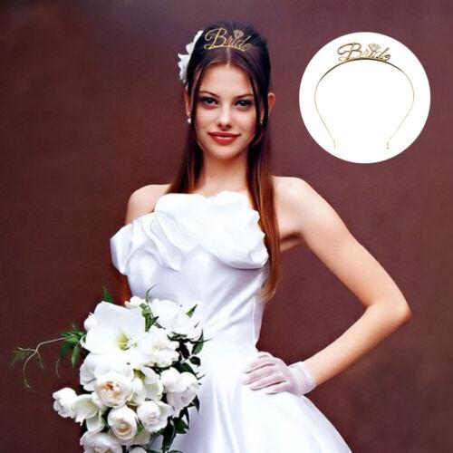 1x Bride Bridesmaid Tiara Crown Bachelorette Hen Party Bride To Be Wedding