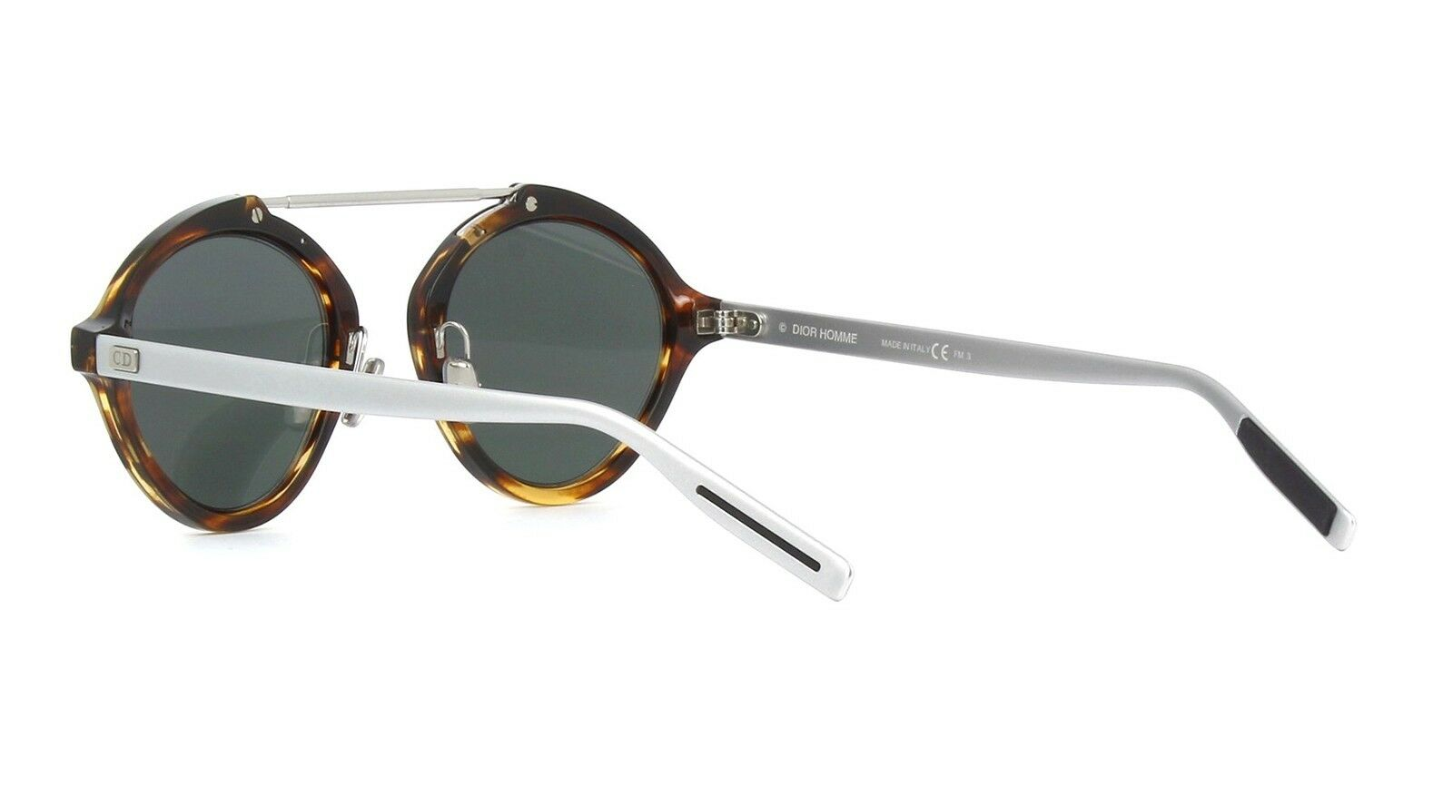 1d93d6e7084ac Christian Dior System 086dc Dark Havana   White Multilayer Sunglasses for  sale online