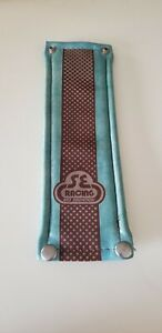 vintage blue vinyl frame pad old school bmx NOS