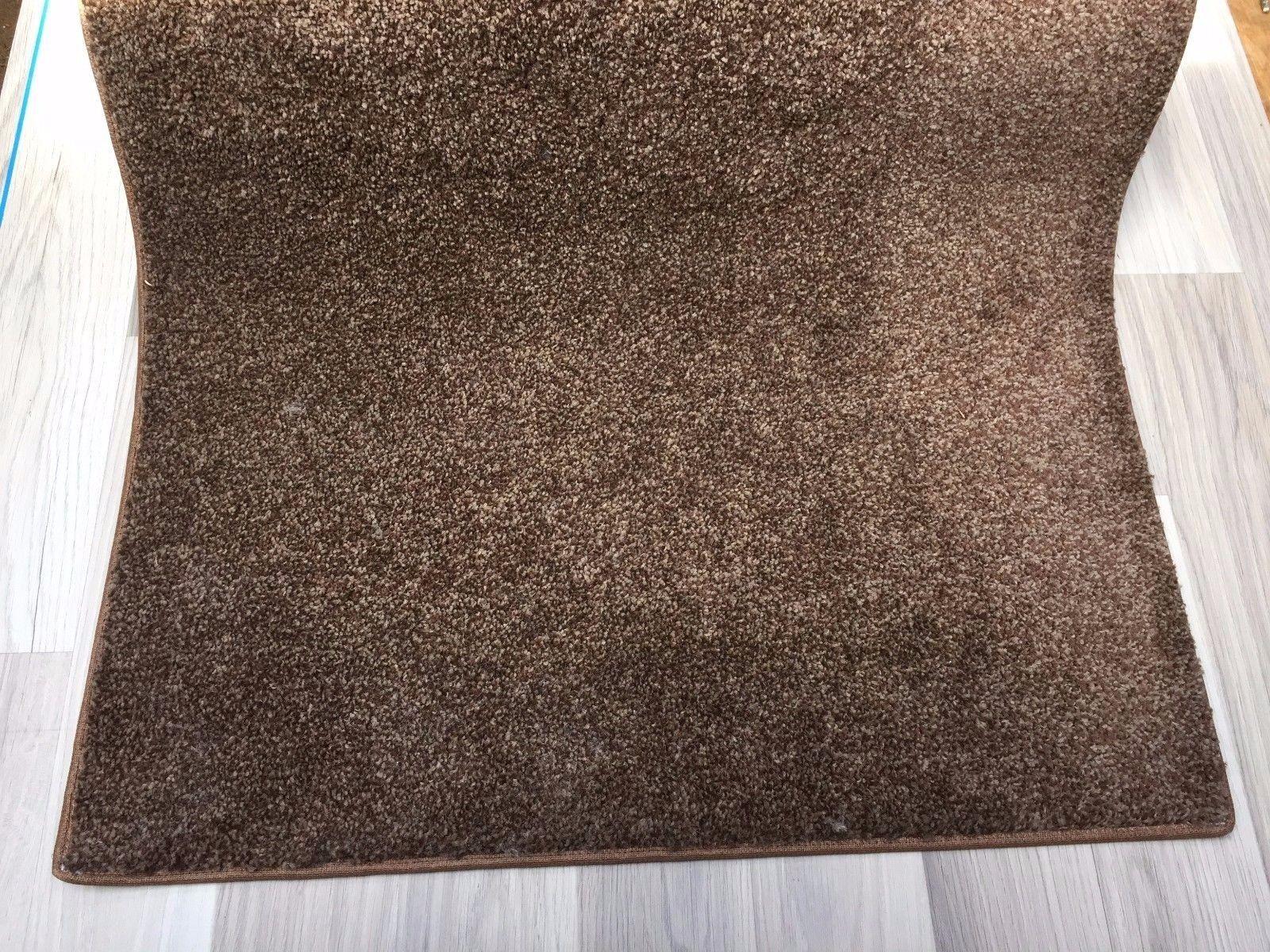 4 M x 68 cm (13 FT (ca. 3.96 m) x 27 in (ca. 68.58 cm)) Tappeto Runner Marronee Morbido Pile di buona qualità  6000