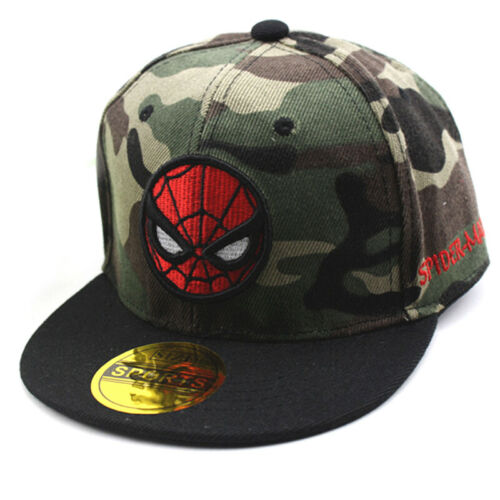 Kids Toddler Girls Boys Spider-man Baseball Cap Snapback Outdoor Summer Sun Hat