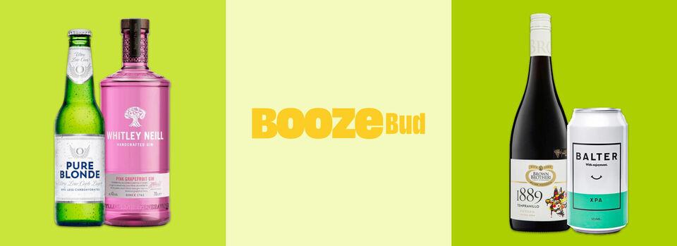 Use code PBUD15 - 15% off* BoozeBud 6th birthday sale