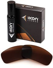 Polarized IKON Replacement Lenses For Spy Cooper XL Sunglasses Bronze/Brown