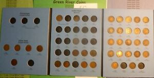 1859-1909  Indian Head  Cent Collection New Whitman Folder #I-37