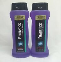 2 Power Stick Intensity Rejuvenating Shower Gel + Shampoo 16 Fl Oz