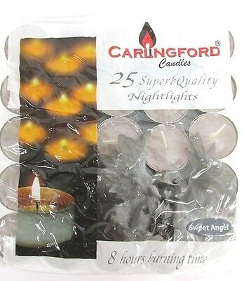 SWEET ANGEL SCENTED TEA LIGHTS CANDLES TEALIGHTS 8HR 8HOUR BURNING TIME