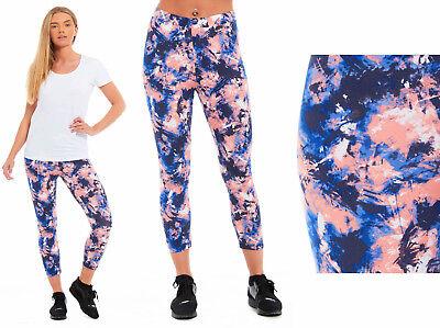 2019 Neuer Stil Ladies Boho Gym Leggings Pants Trousers Sports Bottoms Pants Navy Pink Elastane Reisen