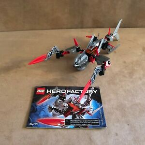 6216-Lego-Complete-Hero-Factory-Jawblade-instructions-red-action-figure