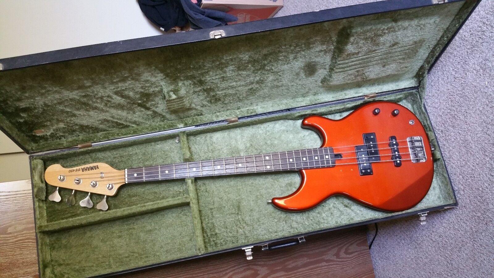 1980's Yamaha BB 450 Bass Guitar