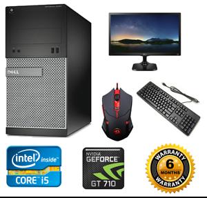 Details about COMPLETE GAMING BUNDLE: PC (QUAD i5 8GB) +24
