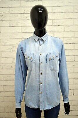 Delizioso Camicia Pop84 Donna Taglia Size 42 Maglia Chemise Top Shirt Woman Cotone Blu Essere Altamente Elogiati E Apprezzati Dal Pubblico Che Consuma