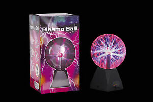 TOUCH-SENSITIVE-PLASMA-BALL-PLASMA-GLOBE-SOUND-ACTIVATED-OR-CONSTANTLY-ON