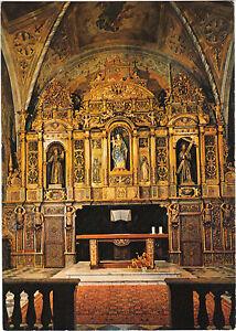 06-TARJETA-POSTAL-Monasterio-franciscano-de-CIMIEZ-retablo-el-maestro