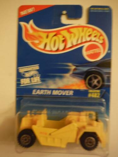 1997 Hot Wheels 482//1121 1997 Hot Wheels Earth Mover