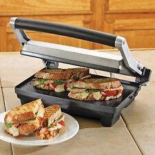 Breville Panini Duo 1500-Watt Nonstick Panini Press Gourmet Grill Sandwich Maker