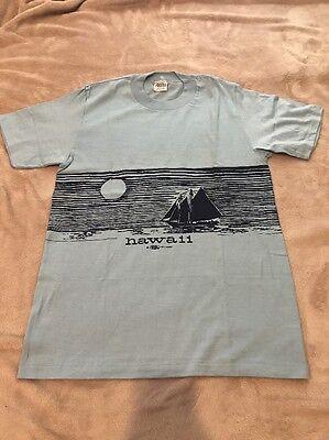 1972 Hawaii T-shirt / Uomo Misura Medio/deadstock