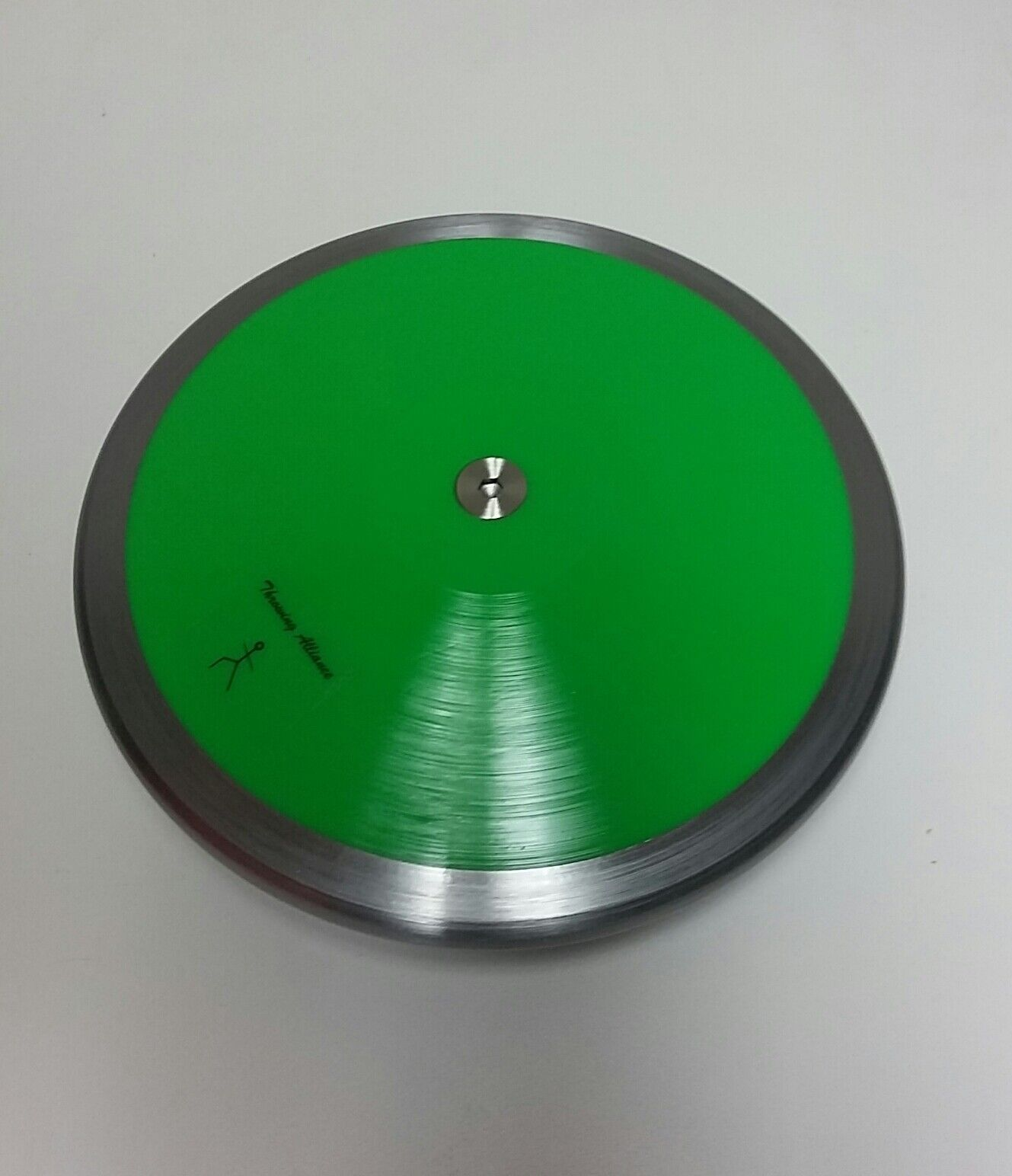 Competition 80% Rim Weight 1 kg Discus Green --High Spin. High Quality