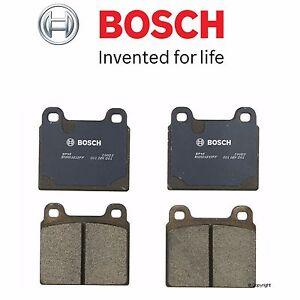 For 911 VW Campmobile Transporter Vanagon Bosch Blue Front Disc Brake Pad NEW