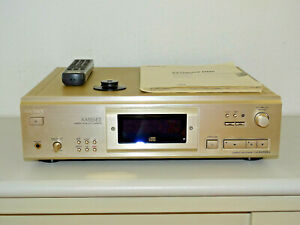 Sony-cdp-xa555es-high-end-reproductor-de-CD-champan-con-FB-bda-amp-Puck-2j-garantia