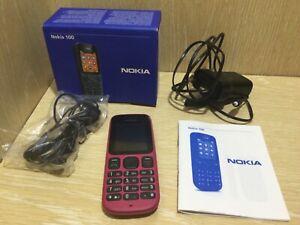 Nokia 100 ROSE Téléphone Portable Réseau Vodafone coffret très bon état