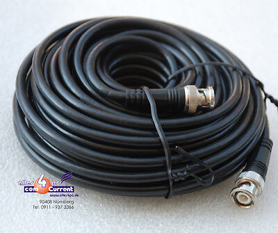 Desinteresado 15m Netzwerkkabel Lan Network Cable 50 Ohm 15 Meter Cord Mit 2x Bnc Stecker Para Ser Distribuidos En Todo El Mundo