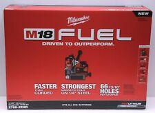 Milwaukee 2788 22hd M18 Fuel 1 12 Lineman Magnetic Drill Kit New