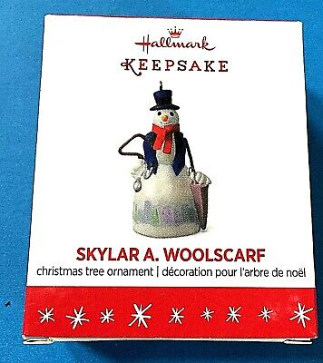 2016 Hallmark Keepsake Miniature Ornament Skylar A Woolscarf Limited EditionB28
