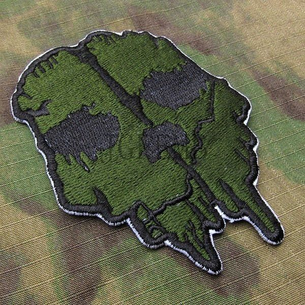 Call Of Duty 10 Ghosts COD10  Morale Military Embroidery Velcro Patch Badges