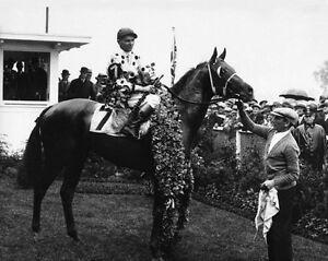 1930-Kentucky-Derby-GALLANT-FOX-Glossy-8x10-Photo-Earl-Sande-Print-Triple-Crown
