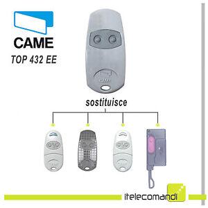 Telecomando-Came-TOP432EE-radiocomando-originale-ex-TOP432-NA-433-92-Mhz-2-tasti