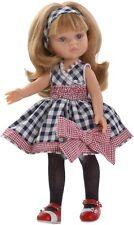Paola Reina Bekleidung mit Schuhen, für 32 cm Puppen, Puppen Kleid mit Schleife