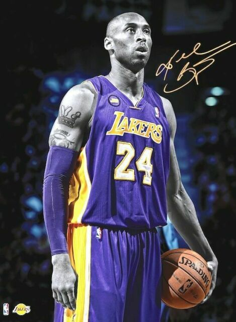 KOBE BRYANT Photo Quality Poster LA LAKERS 12 Choose a Size