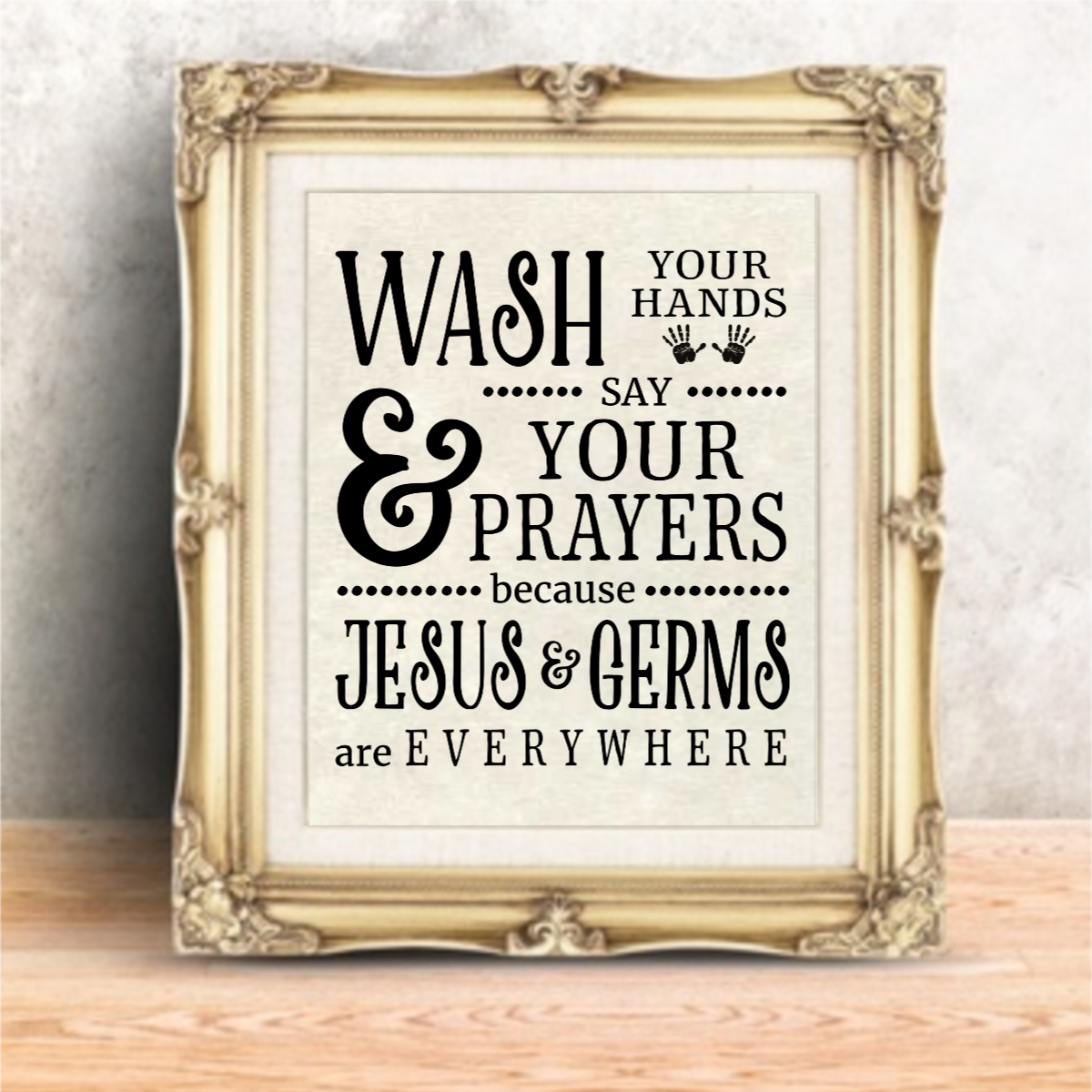Bathroom Wall Quotes Funny Kitchen Signs Art Print Farmhouse Decor Picture Gift 2