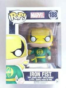 FUNKO-POP-VINYL-MARVEL-IRON-FIST-188-with-FREE-PROTECTOR