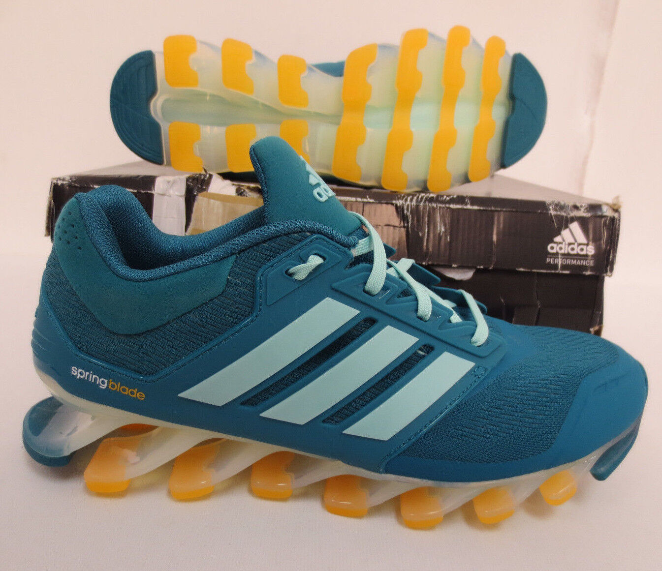 ADIDAS SPRINGBLADE DRIVE WOMENS SHOES SIZE 9.5 RUNNING GYM WALKING NEW C75668