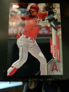 2020 Topps #125 Shohei Ohtani Los Angeles Angels Baseball Card