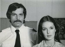 JACQUES WEBER  ANICEE ALVINA UNE FEMME FATALE 1974 VINTAGE PHOTO ORIGINAL