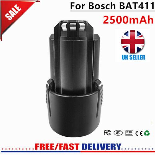 10.8V 2500mAh Li-ion Replacement Battery For Bosch BAT411 BAT411A BAT412 BAT413