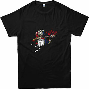 9ee99a4108b8 Suicide Squad T-Shirt, Harley Quinn Baseball Bat T-Shirt, Inspired ...