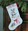 Dimensiones-Oro-contado-Cross-Stitch-Kit-Navidad-Stocking-Santa-Muneco-de-nieve miniatura 4